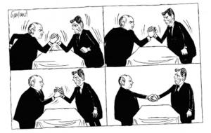 Handshake - JC History Tuition