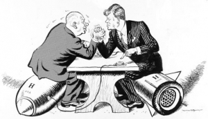 JC History Tuition - Cold War Notes - Cuban Missile Crisis - Arm Wrestling